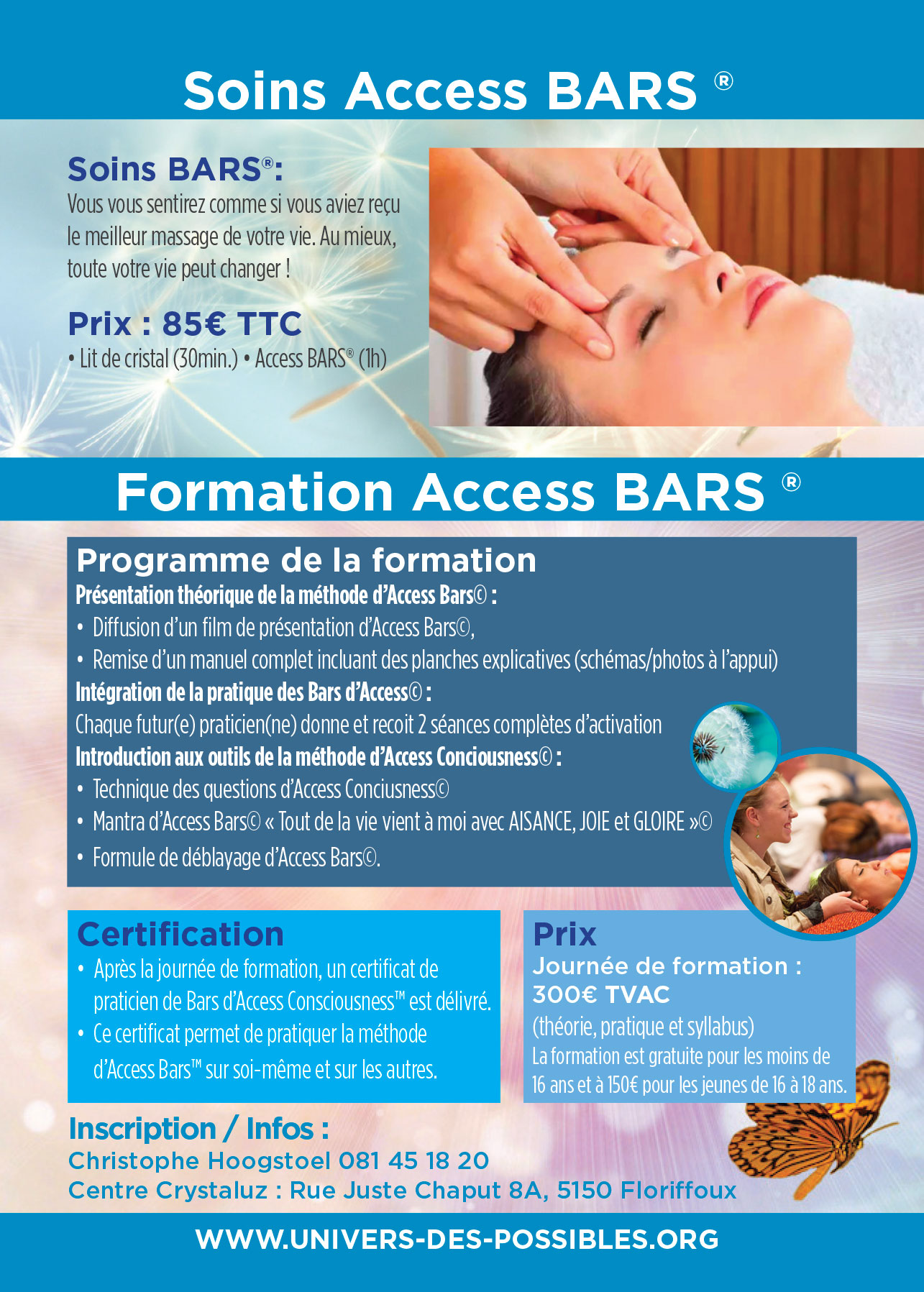 Access Bars Flyers verso